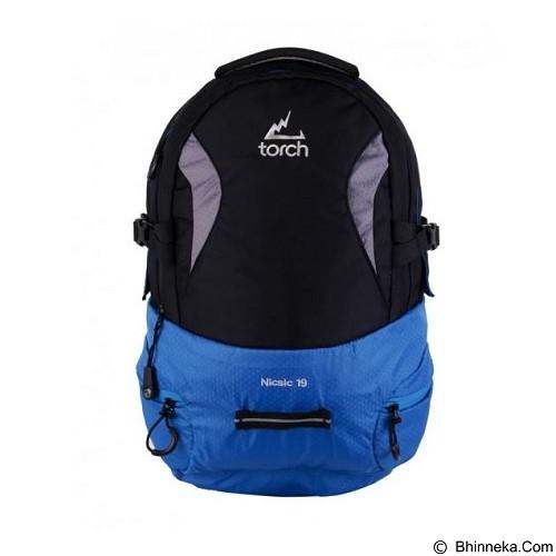 TORCH Nicsic 1.9 - Black Blue (Merchant) - Notebook Backpack