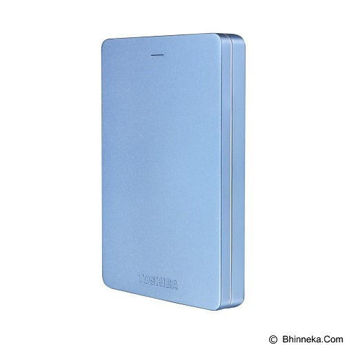 TOSHIBA Canvio Alumy 3.0 Portable Hard Drive 2TB [HDTH320EL3CA] - Blue - Hard Disk External 2.5 Inch