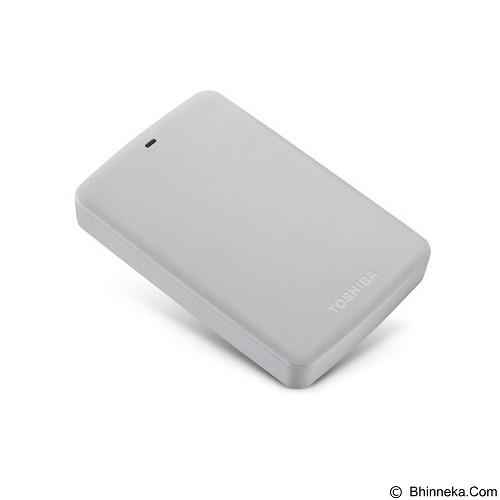 TOSHIBA Canvio Basic 3.0 Portable Hard Drive 2TB - White - Hard Disk External 2.5 Inch
