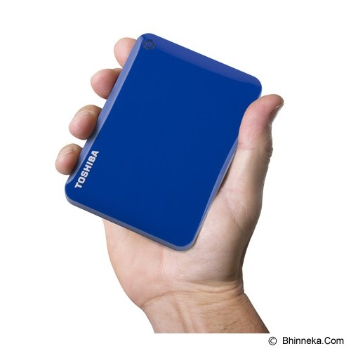 TOSHIBA Canvio Connect II Portable Hard Drive 1TB - Blue - Hard Disk External 2.5 Inch