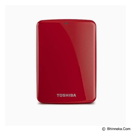 TOSHIBA Canvio Connect 3.0 Portable Hard Drive 1TB - Red - Hard Disk External 2.5 Inch