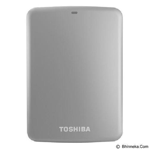 TOSHIBA Canvio Connect 3.0 Portable Hard Drive 2TB - Silver - Hard Disk External 2.5 Inch