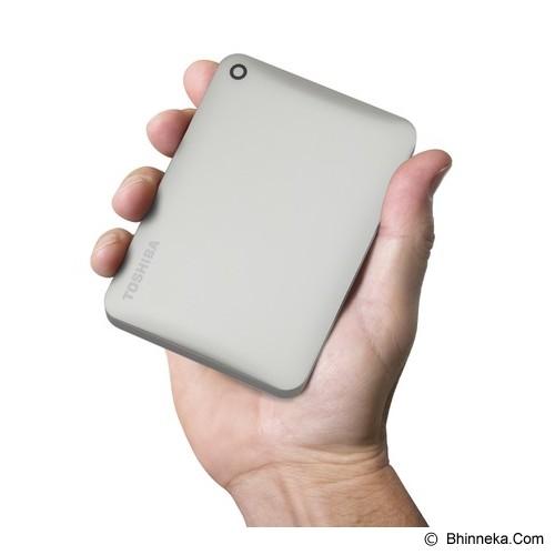 TOSHIBA Canvio Connect II Portable Hard Drive 500GB - Satin Gold - Hard Disk External 2.5 Inch