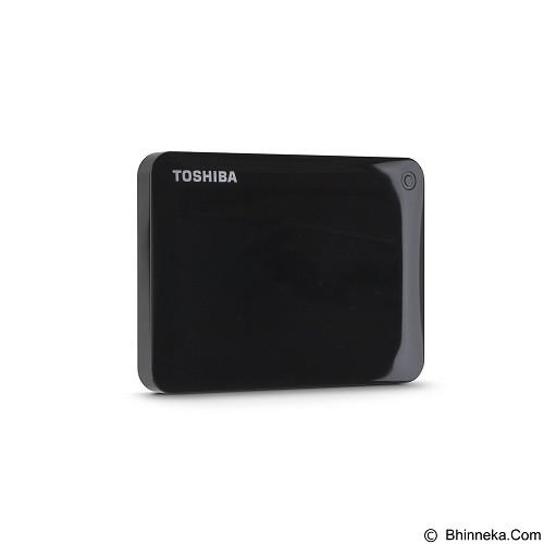 TOSHIBA Canvio Connect II Portable Hard Drive 1TB - Black - Hard Disk External 2.5 Inch