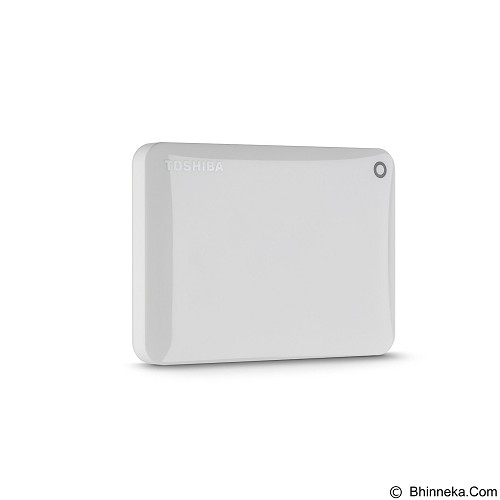 TOSHIBA Canvio Connect II Portable Hard Drive 1TB - White - Hard Disk External 2.5 Inch