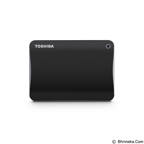 TOSHIBA Canvio Connect II Portable Hard Drive 2TB - Black - Hard Disk External 2.5 Inch