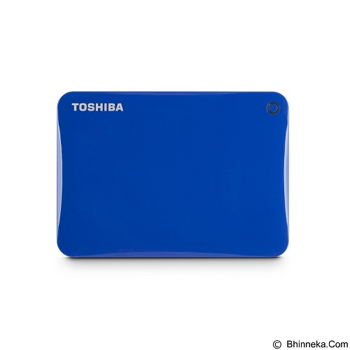 TOSHIBA Canvio Connect II Portable Hard Drive 2TB - Blue - Hard Disk External 2.5 Inch