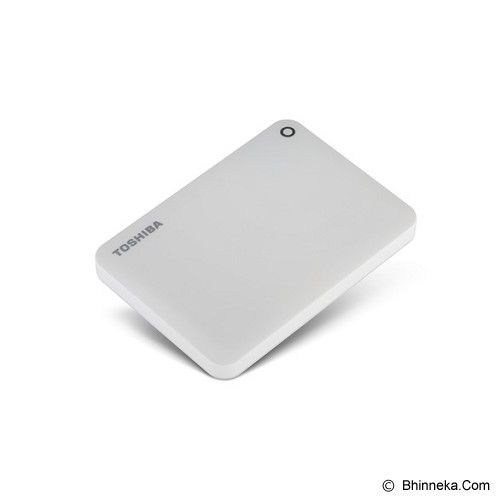 TOSHIBA Canvio Connect II Portable Hard Drive 2TB - White - Hard Disk External 2.5 Inch