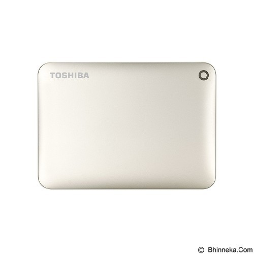 TOSHIBA Canvio Connect II Portable Hard Drive 3TB - Satin Gold - Hard Disk External 2.5 Inch