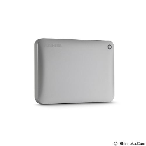 TOSHIBA Canvio Connect II Portable Hard Drive 3TB - Silver - Hard Disk External 2.5 inch