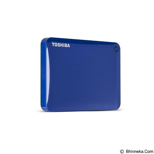 TOSHIBA Canvio Connect II Portable Hard Drive 500GB - Blue - Hard Disk External 2.5 Inch