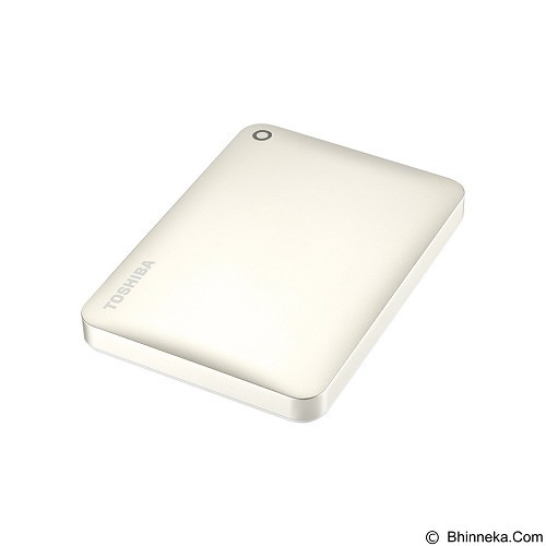 TOSHIBA Canvio Connect II Portable Hard Drive 500GB - Satin Gold - Hard Disk External 2.5 Inch