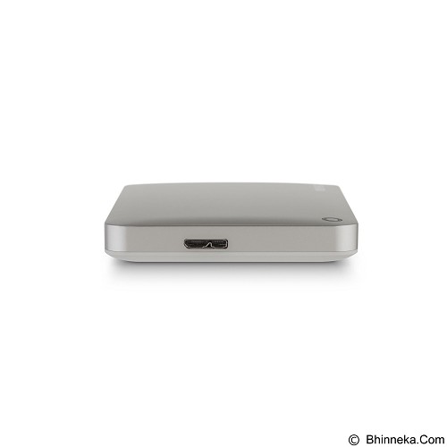 TOSHIBA Canvio Connect II Portable Hard Drive 500GB - Silver - Hard Disk External 2.5 inch