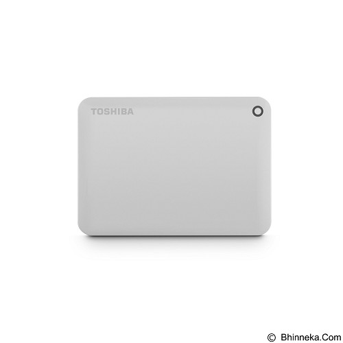 TOSHIBA Canvio Connect II Portable Hard Drive 500GB - White - Hard Disk External 2.5 Inch