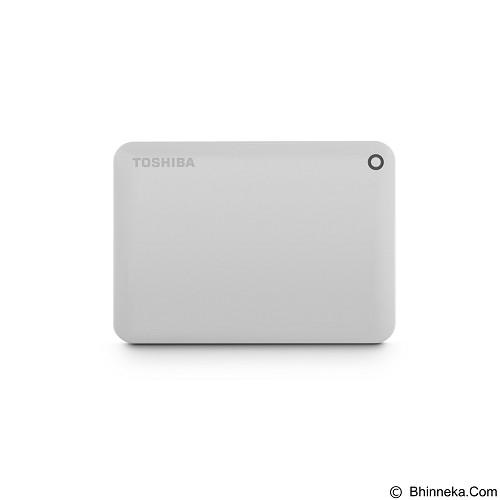 TOSHIBA Canvio Connect II Portable Hard Drive 500GB - White - Hard Disk External 2.5 Inch