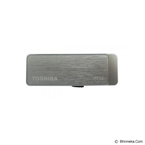TOSHIBA Flash Drive Pro USB 3.0 16GB - Brushed Silver - USB Flash Disk Basic 3.0