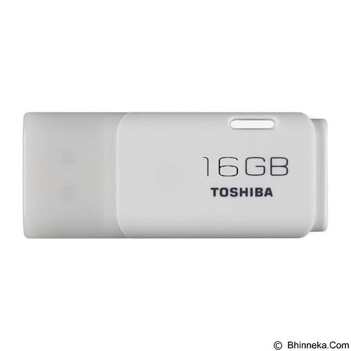 TOSHIBA Hayabusa 16GB - White (Merchant) - Usb Flash Disk Basic 2.0