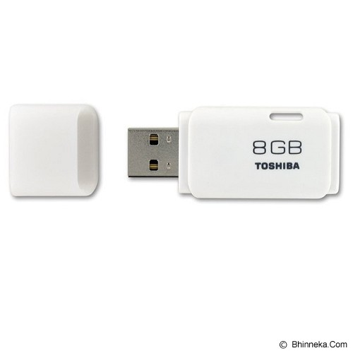 TOSHIBA Hayabusa 8GB [4904550592571] - White - Usb Flash Disk Basic 2.0