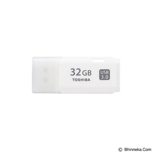 TOSHIBA Hayabusa USB 3.0 32GB [THN-U301W0320A4] - White (Merchant) - Usb Flash Disk Basic 3.0