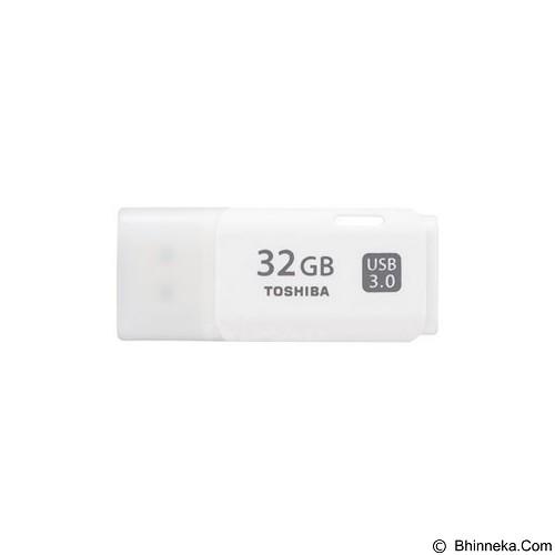 TOSHIBA Hayabusa USB 3.0 32GB [THN-U301W0320A4] - White - Usb Flash Disk Basic 3.0