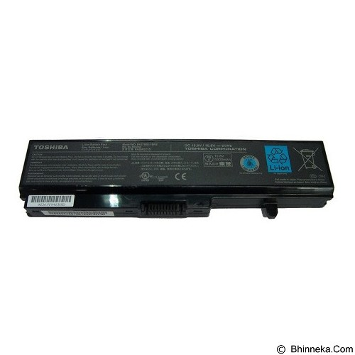 TOSHIBA Notebook Battery for T110/T130/PA3780 Series - Notebook Option Battery