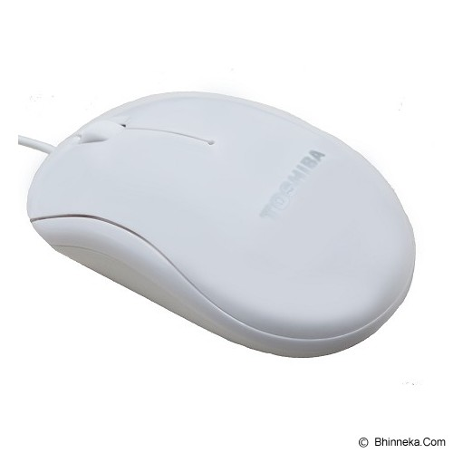 TOSHIBA Optical Mouse [U20] - White - Mouse Basic