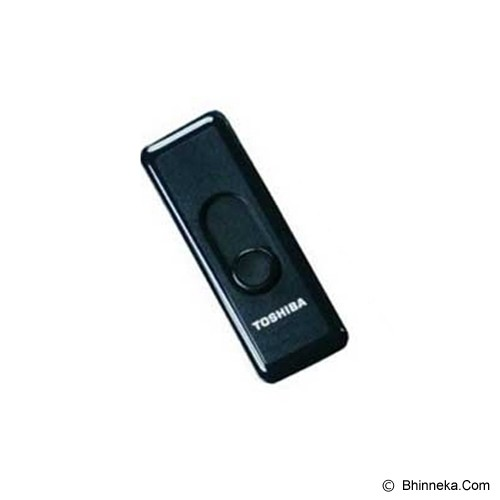 TOSHIBA Retractable 16GB - Black - Usb Flash Disk Basic 2.0