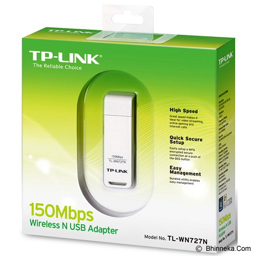 TP-LINK Wireless Adapter [TL-WN727N] - Network Card Wireless