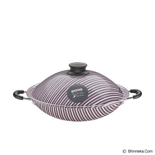 TRAMONTINA My Lovely Kitchen Wok Pot 32cm [27807/013] - Penggorengan / Frypan