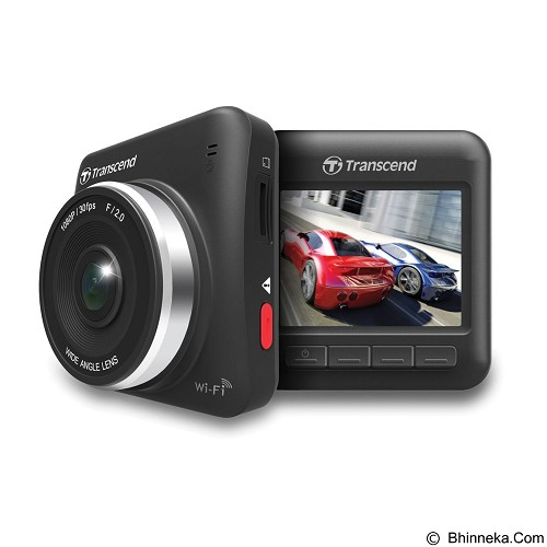 TRANSCEND DrivePro 200 Car Video Recorder 16GB with Suction Mount - Kamera Mobil