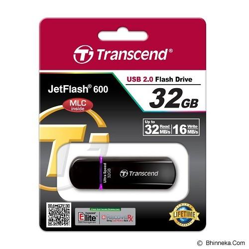 TRANSCEND JETFLASH 32GB [600] - Purple - Usb Flash Disk Basic 2.0