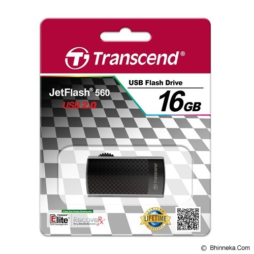 TRANSCEND JetFlash 560 Modis Style 16GB - Usb Flash Disk Basic 2.0