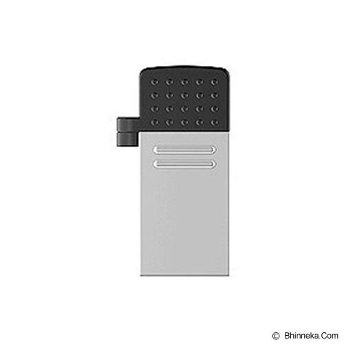 TRANSCEND JetFlash OTG 380 16GB - Silver - Usb Flash Disk Dual Drive / Otg