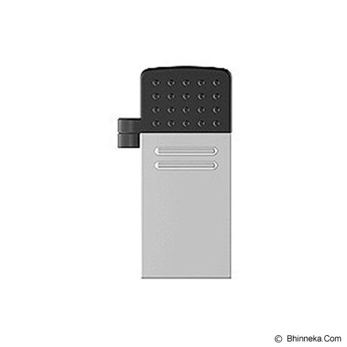 TRANSCEND JetFlash OTG 380 32GB - Silver - USB Flash Disk Dual Drive / OTG