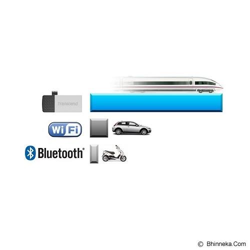 TRANSCEND JetFlash OTG 380 8GB - Silver - USB Flash Disk Dual Drive / OTG