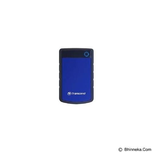 TRANSCEND StoreJet 25H3 USB 3.0 1TB - Blue (Merchant) - Hard Disk External 2.5 Inch