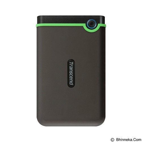 TRANSCEND StoreJet 25M3 USB 3.0 1TB [TS1TSJ25M3] - Iron Gray (Merchant) - Hard Disk External 2.5 Inch