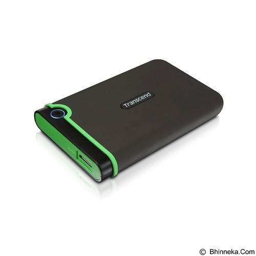 TRANSCEND StoreJet 25M3 USB 3.0 2TB [TS2TSJ25M3] - Iron Gray - Hard Disk External 2.5 Inch