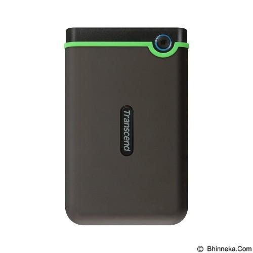 TRANSCEND StoreJet 25M3 USB 3.0 500GB [TS500GSJ25M3] - Iron Gray - Hard Disk External 2.5 Inch