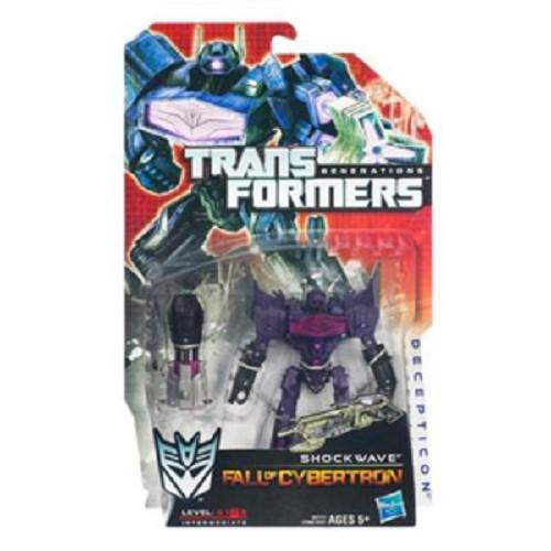 HASBRO Transformers Generations Deluxe Shockwave - Movie and Superheroes