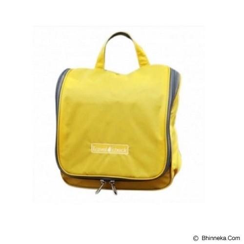 TRAVEL CHECK Toiletries Pouch Bag - Yellow - Travel Bag