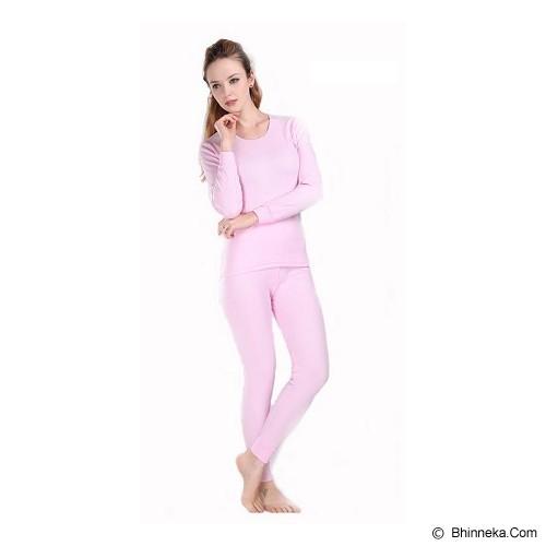 TRAVELHOLIX Baju Musim Dingin Longjohn Wanita Size S - Pink - Kaos Wanita