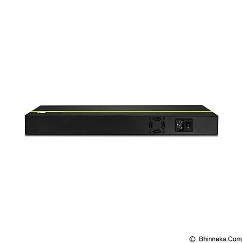 TRENDNET 16-Port 30 Watt 10/100Mbps PoE+ Switch [TPE-T160] - Switch Poe Splitter
