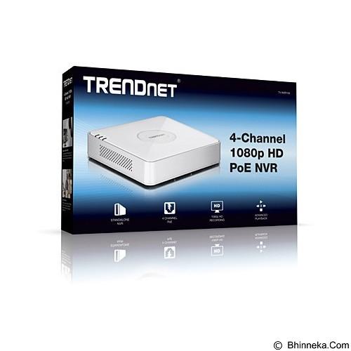 TRENDNET 4 Channel 1080p HD PoE NVR [TV-NVR104] - Cctv Accessory