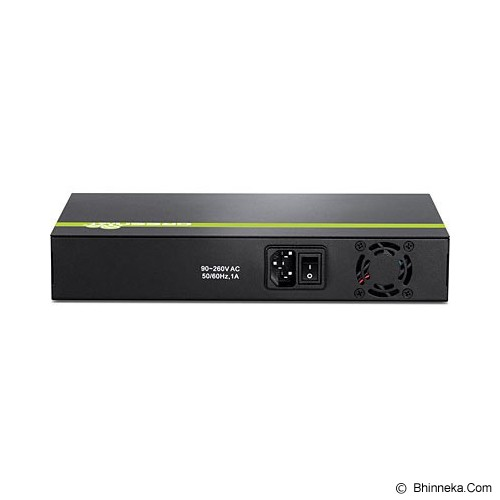 TRENDNET 8-Port 10/100 Mbps PoE+ Switch [TPE-T80H] - Switch Managed