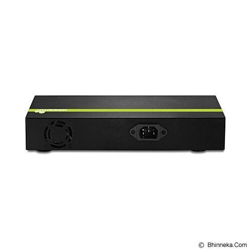 TRENDNET 8-Port 30 Watt 10/100Mbps PoE+ Switch [TPE-T80] - Switch Managed