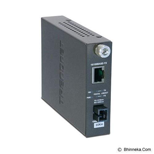 TRENDNET Dual Wavelength SM SC Fiber Converter TX1310 [TFC-110S20D3] - Network Converter