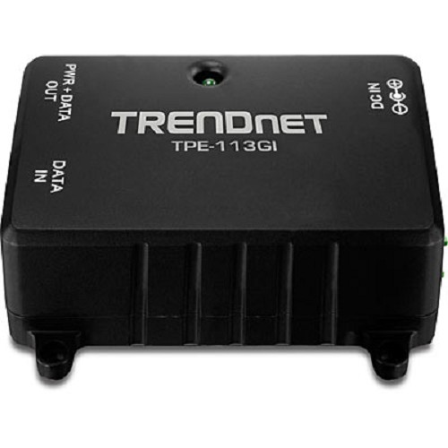 TRENDNET Gigabit PoE Injector [TPE-113GI] - Switch Poe Splitter