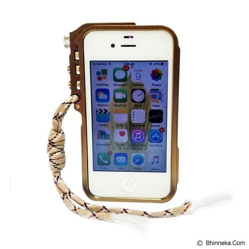 TRIGGER Case iPhone 4/4s - Brown - Casing Handphone / Case