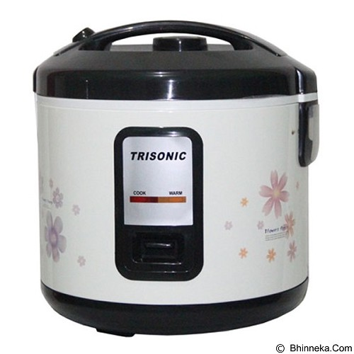 TRISONIC Magic Com 1.8 L [T-707] - Flower Multicolor - Rice Cooker